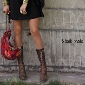 FRYE Villager Lace boots